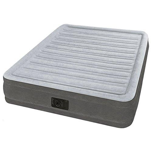 Intex 67768 - Colchón Hinchable Dura-Beam Plus ComfortPlush, 137 x 191 x 33 cm