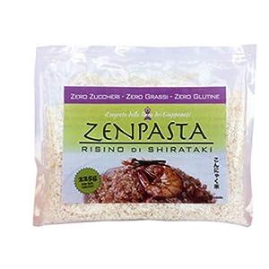 Zenpasta Shirataki Seco Formato Arroz - 50 gr