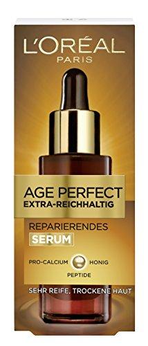L'Oreal Paris Age Perfect Extra-Reichhaltig Gesichtspflege-Serum, 30ml: kräftigt und glättet trockene Haut