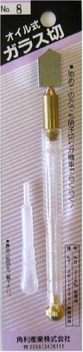 角利(KAKURI) オイルガラス切 No.8