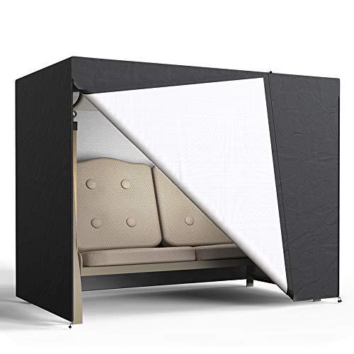 You's - Telo di copertura per dondolo da giardino a 2 posti, impermeabile, 210D, Oxford 160 x 125 x 170 cm