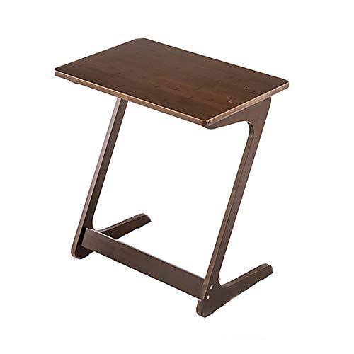 lei shop Tables D'appoint en Bois en Forme de C avec Structure en Métal, Évolutif, Plusieurs Couleurs et Tailles