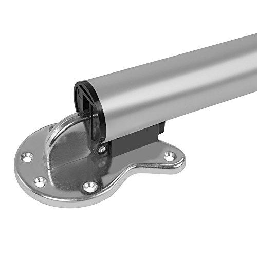 addys-onlinesale Ø50mm 710mm Tischbein klappbar (Silber)