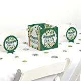 Big Dot of Happiness Family Tree Reunion - Family Gathering Party Centerpiece and Table Decoration Kit