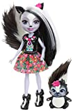 Mattel Enchantimals DYC75 - Stinktiermädchen Sage Skunk, Puppe