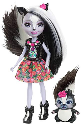 Enchantimals Mofeta Muñeca con mascota Sage Skunk (Mattel DYC75)