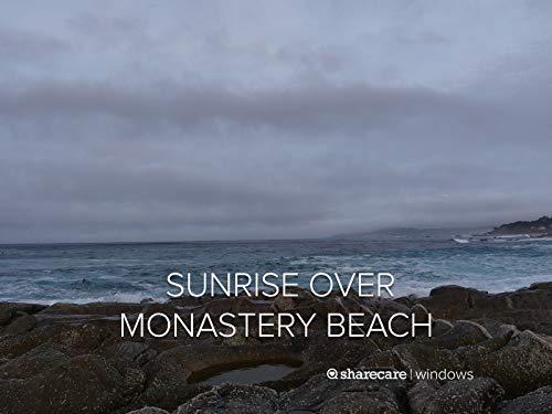 Sunrise over Monastery Beach. Buy it now for 1.99