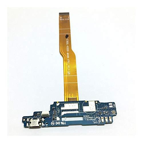 HDHUIXS Compatibilidad Puerto USB de Carga Junta For ZTE Voyage 4 Hoja A610 USB Base de Carga del Puerto Flex Piezas de reparación del Cable Profesional (Color : Original)