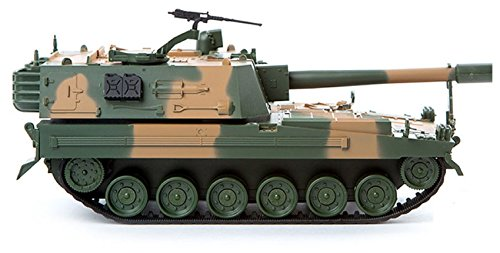 K-9 155 mm Self-propelled Artillery Toy 2.4Ghz Wireless Control Vehicle Tank, Republic of Korea Army 1/48, 2-Channel Gear Box ,5 AAA Batteries Operated(Not Included) Multi Color Parts(MCP)