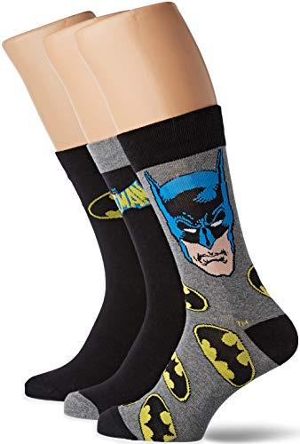 Batman Pack de 3 Pares de calcetines con Lata