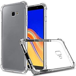 Samsung Galaxy J4 Plus Crystal Clear Air Cushion Anti Crack Case Cover