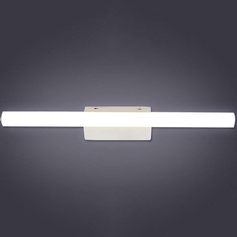 Badezimmerspiegel Beleuchtung LED-Spiegel Scheinwerfer, Anti-fog Wasserdicht Badezimmer Make-up-Spiegel Schlafzimmer Wand Lampe Taschenlampe (Gre  40 cm 9.6W)
