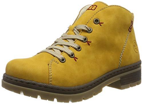 Rieker Damen M7433 Desert Boots, Gelb (Honig / 68 68), 40 EU