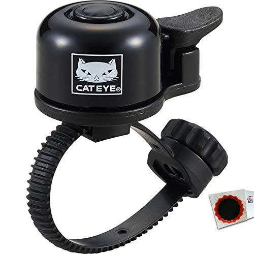 keine Angabe CATEYE Klingel OH-1400 einzeln im Polybag FlexTight 19–32mm Lenker-Ø schwarz