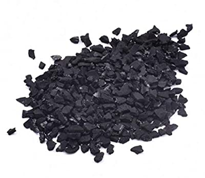 Origin Crafts Activated Carbon Charcoal Granules Fish Tank Filter and Filtration Media (200g) by EuroCarb