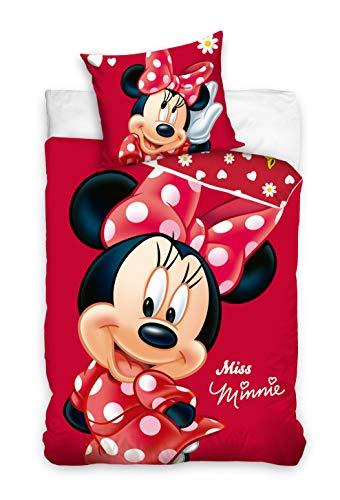 Disney Miss Minnie Copripiumino con federa 140 x 200 + 70 x 90 cm in cotone