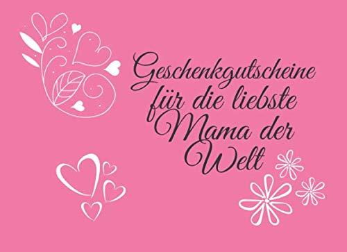 GESCHENKIDEEN FÜR MAMA ZUM MUTTERTAG / Blumen/ Geschenkgutschein für die Mutter/ Muttertag Blumen Geschenk