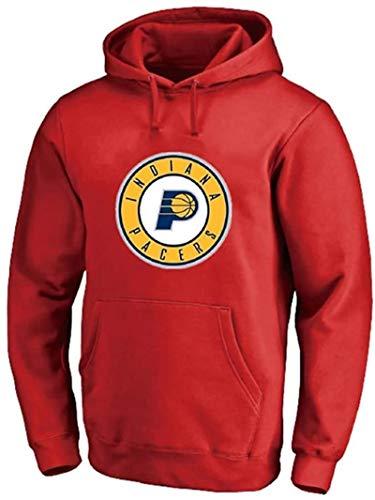 BBLTO Indiana Pacers - Sudadera con capucha para hombre, manga larga, para entrenamiento, cómoda, informal, camiseta activa (color: D, talla: XXL)