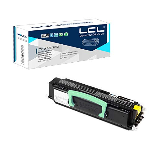 LCL Compatible Toner Cartridge Replacement for Dell 310-8701 310-8708 MW558 PY449 310-8702 310-8709 MW559 RP380 GR299 PY408 RP441 GR332 6000 Pages 1720 1720dn Printers (1-Pack Black)
