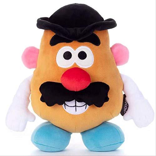 qwerqz Soft Toys-Toy Story Figura Mr Potato Plush Doll Toys Niños Regalo De Cumpleaños De Navidad 22cm