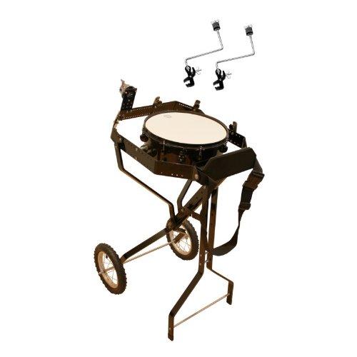 Schlagzeugwagen für 4 Toms, mit Snare, Hi-Hat Rosette, 2 Beckenhalter