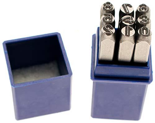 BGS 3034 | Einschlagzahlen | 4 mm | DIN 1451 | Schlag-Zahlen / Schlagstempel