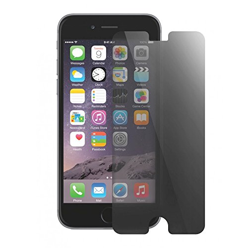 Protector de pantalla de cristal templado con efecto privado para iPhone 6