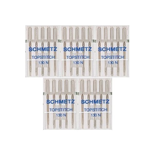 25 Schmetz Quilting Sewing Machine Needles 130//705H H-Q Size 75//11 by Schmetz