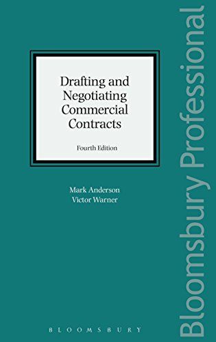 Drafting and Negotiating Commercial Contracts: Fourth Edition (English Edition)