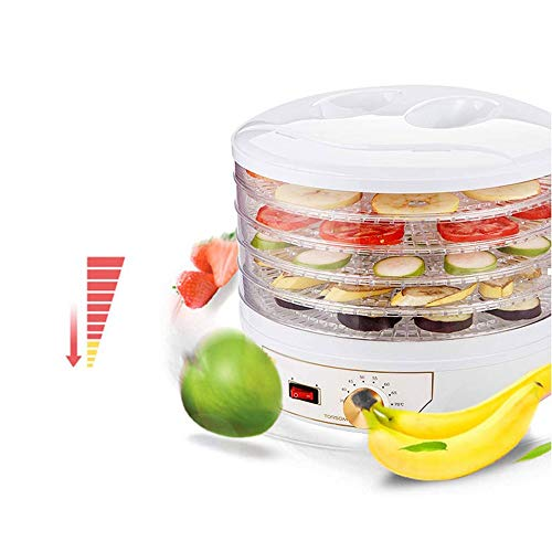 Big Save! LEFJDNGB Dehydrator,Knob Control 5-layer Multi-function Fresh Food Dehydrator Machine for ...