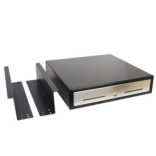 ANGEL POS 1520060 18-Inch Cash Drawer with Mounting Bracket and Cash Register