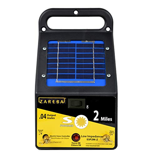 Zareba ESP2M-Z 2-Mile Solar Low Impedance...