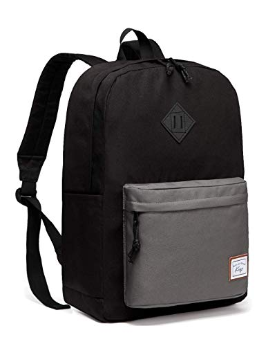 School Backpack,Kasqo Water Resistant USB Casual Backpack for Men Women Students