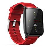 APCHY Smart Watch Reloj,Monitores De Actividad La Brazalete De Moda del Comercio Electrónico Transfronterizo De Adultos del Medidor De Frecuencia Cardíaca, El Contador del Paso,E