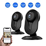 SMONET Security Camera Wireless, Home Security IP Camera with Two-Way Audio, Night Vision