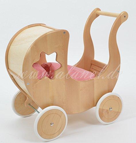 Puppenwagen Doll Pram Doll´Pram IBIS MIT BETWÄSCHE