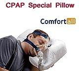 CPAP-Kissen, Professionell für das Schlafen mit CPAP-Gerät, funktioniert für Seiten-, Rücken-...