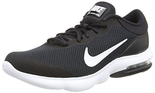Nike Air Max Advantage Mens Running Trainers 908981 Sneakers Shoes (UK 7.5 US 8.5 EU 42, Black White 001)
