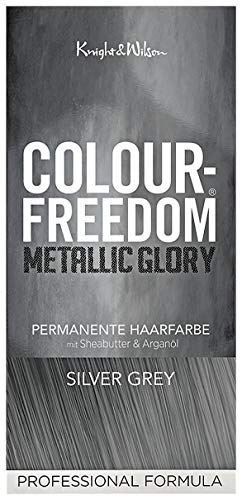 Colour-Freedom Metallic Glory Silver Grey permanente Haarfarbe