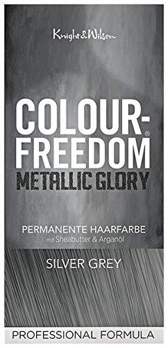 Colour-Freedom, Metallic Glory Silver Grey, tinta per capelli, grigio argento [etichetta in lingua italiana non garantita]