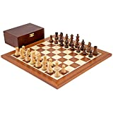 The Down Head Sheesham Championship Chess Set by The Regency Chess Company