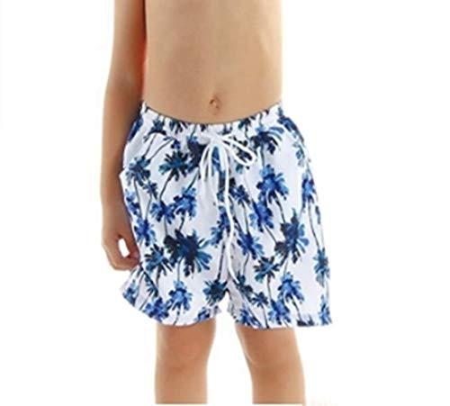 Eledobby Traje de Baño a Juego para la Familia Bañadores para Padres e Hijos Pantalones Cortos de Salón de Verano Ropa de Baño para Hombres y Niños Ropa de Playa Informal de Verano 6-8 Años