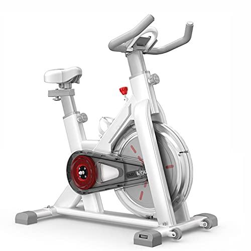 CGBF-Bicicleta de Apartamentos, Bicicletas estacionarias con Soporte Grande para teléfono móvil, cómodo Asiento y cinturón entrenado entrenados, Bicicleta Interior para el hogar Cardio de Interior