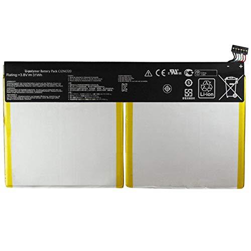 WYGUO C12N1320 0B200-00720300 Sostituzione della Batteria del Tablet per ASUS Transformer Book T100 T100T T100TA T100TA-C1 GR T100TAL T100TAF T100TAM Series 10.1  Tablet PC 2in1 Notebook (3.8V 31wh)