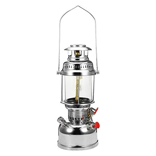 Tlight - Farol portátil de 500 W de oro con diseño de globo de presión de queroseno para iluminación al aire libre de camping