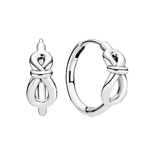 Pandora Women Sterling silver Not applicable Hoop earrings - 298889C00