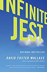 "Cover of David Foster Wallace's ""Infinite Jest."""