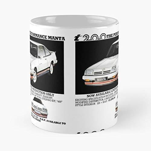 5TheWay I Opel Manta Mug Best 11 oz Kaffeebecher - Nespresso Tassen Kaffee Motive