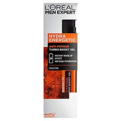 L'Oreal Paris Men Expert Hydra Energetic Anti-Fatigue Creatine Recharging Moisturiser, 50 ml