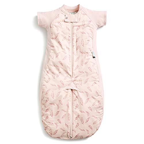ergoPouch Combinatie slaapzak Baby - TOG 1.0-100% biologisch katoen - TOG 1.0 - Groen, 2-12m (80cm) 2-4y Quill